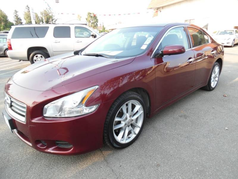 2013 NISSAN MAXIMA 35 S 4DR SEDAN red need financing we can help call now call today call th
