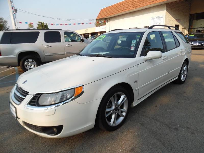 2008 SAAB 9-5 23T SPORTCOMBI 4DR WAGON white need financing we can help call now call today