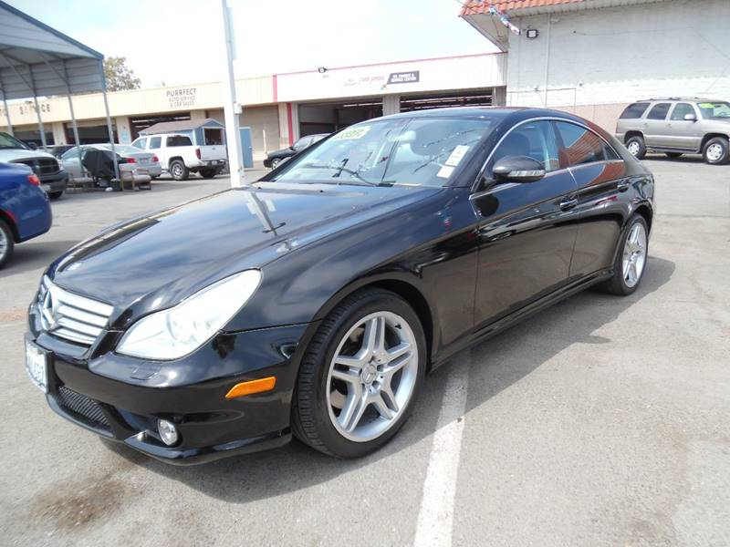 2006 MERCEDES-BENZ CLS CLS 500 4DR SEDAN black need financing we can help call now call today