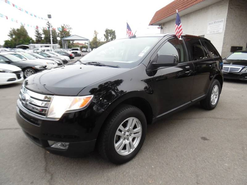 2008 FORD EDGE SEL 4DR CROSSOVER black need financing we can help call now call today call th