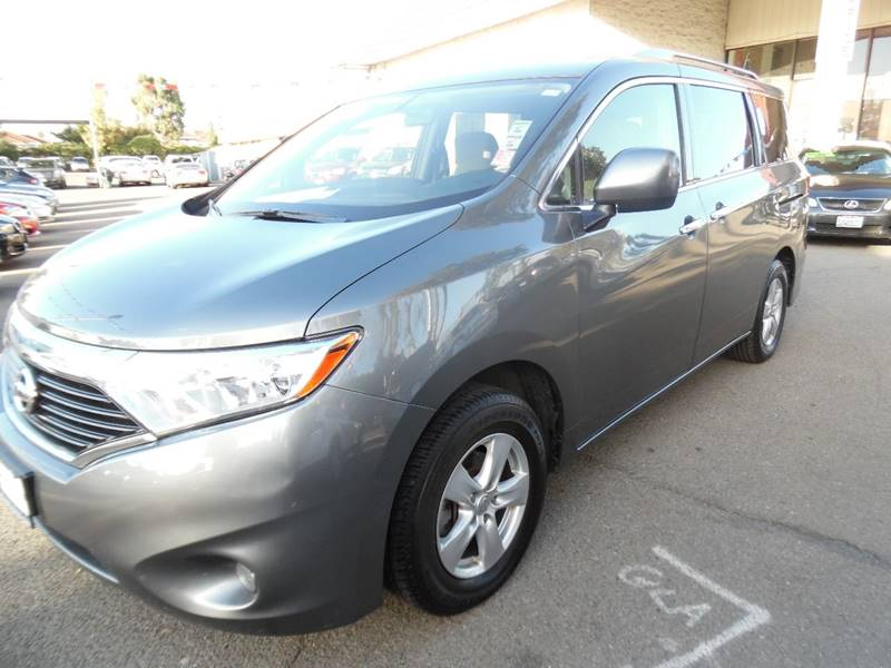 2016 NISSAN QUEST 35 SV 4DR MINI VAN gray need financing we can help call now call today cal