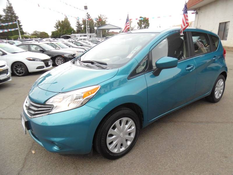 2016 NISSAN VERSA NOTE SV 4DR HATCHBACK teal need financing we can help call now call today c