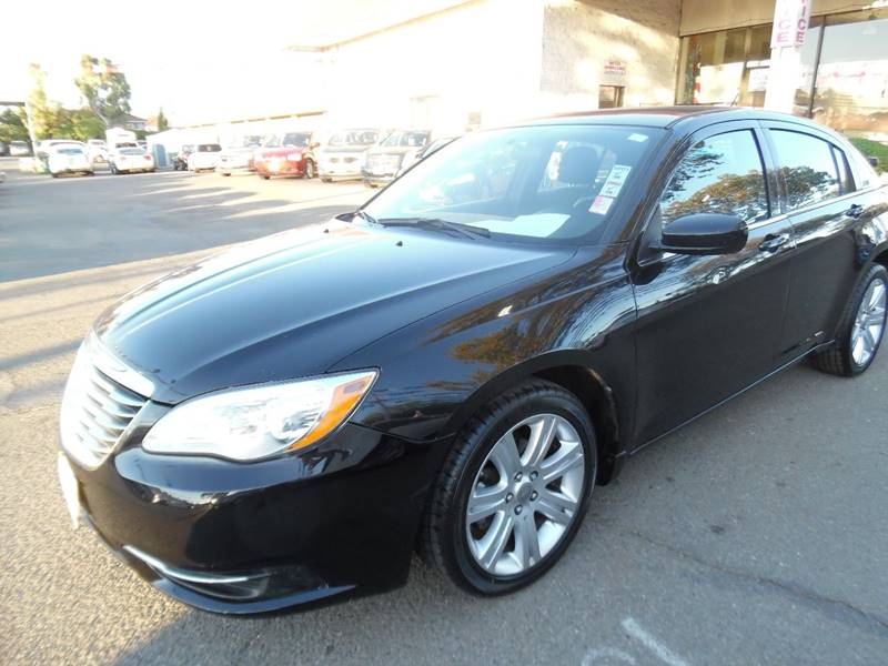 2013 CHRYSLER 200 LX 4DR SEDAN black need financing we can help call now call today call the
