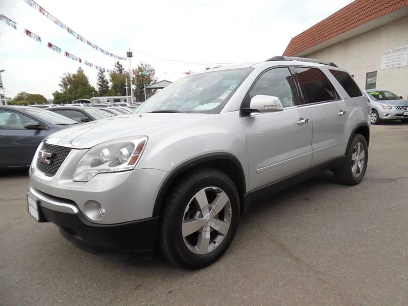 2012 GMC ACADIA SLT 1 AWD 4DR SUV silver need financing we can help call now call today call