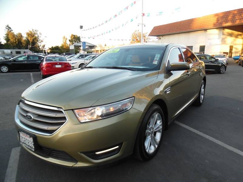2013 FORD TAURUS SEL 4DR SEDAN green need financing we can help call now call today call the