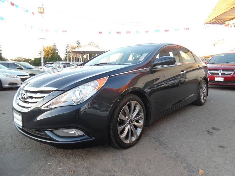 2012 HYUNDAI SONATA SE 20T 4DR SEDAN blue need financing we can help call now call today cal