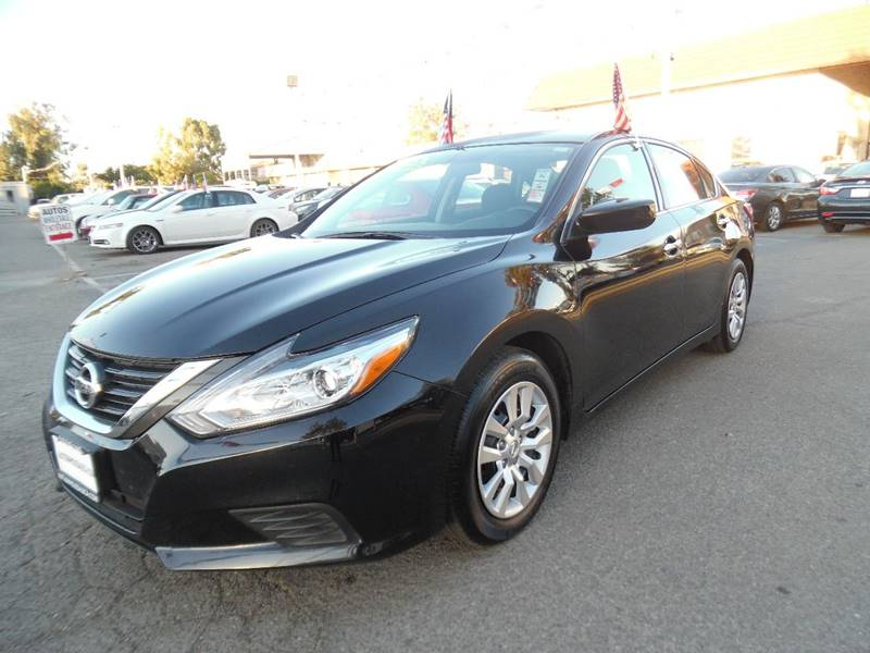 2016 NISSAN ALTIMA 25 S 4DR SEDAN black need financing we can help call now call today call