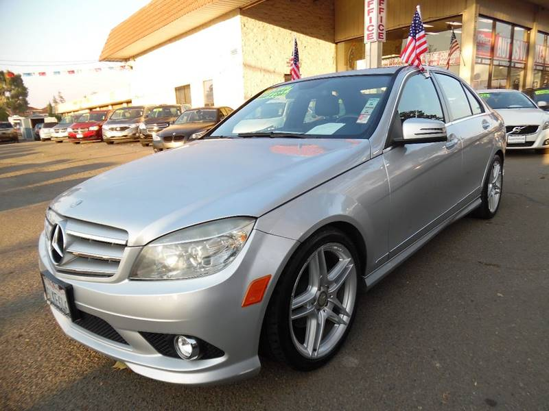 2010 MERCEDES-BENZ C-CLASS C 300 SPORT 4DR SEDAN silver need financing we can help call now ca
