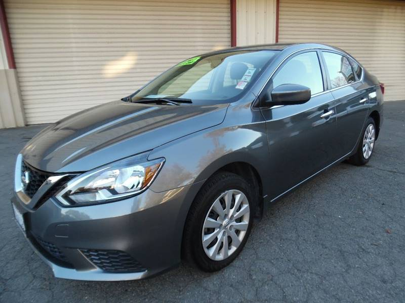 2016 NISSAN SENTRA SV 4DR SEDAN gray need financing we can help call now call today call the
