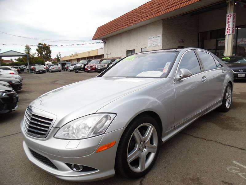 2008 MERCEDES-BENZ S-CLASS S 550 4DR SEDAN silver need financing we can help call now call tod