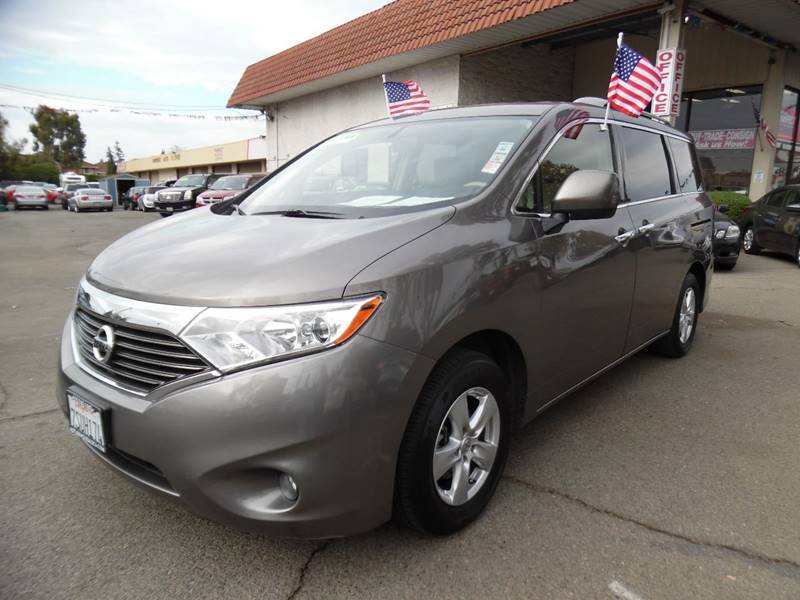 2016 NISSAN QUEST 35 SV 4DR MINI VAN gold need financing we can help call now call today cal