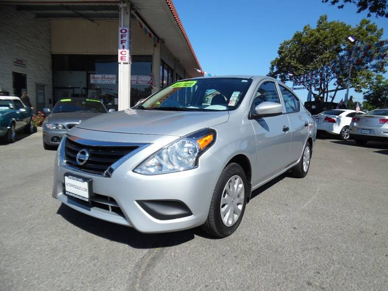 2016 NISSAN VERSA 16 SV 4DR SEDAN silver need financing we can help call now call today call
