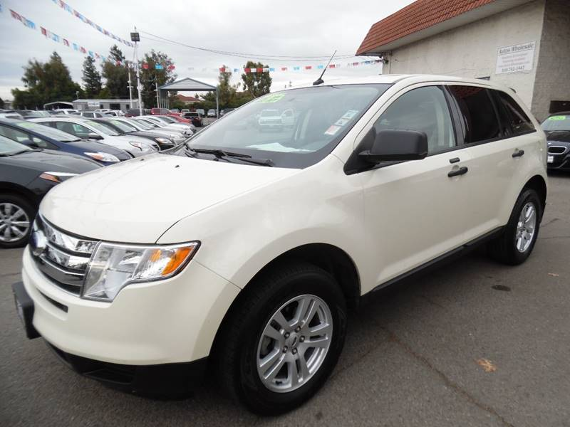 2008 FORD EDGE SE 4DR CROSSOVER off white need financing we can help call now call today call