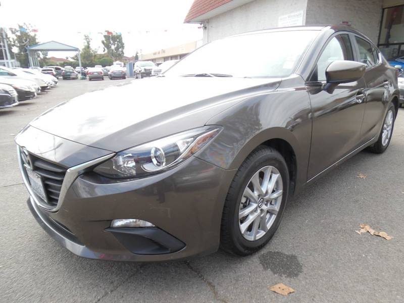 2016 MAZDA MAZDA3 I SPORT 4DR SEDAN 6A gray need financing we can help call now call today ca