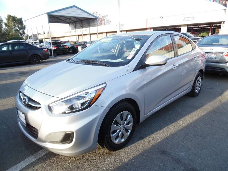2016 HYUNDAI ACCENT SE 4DR SEDAN 6A silver need financing we can help call now call today cal