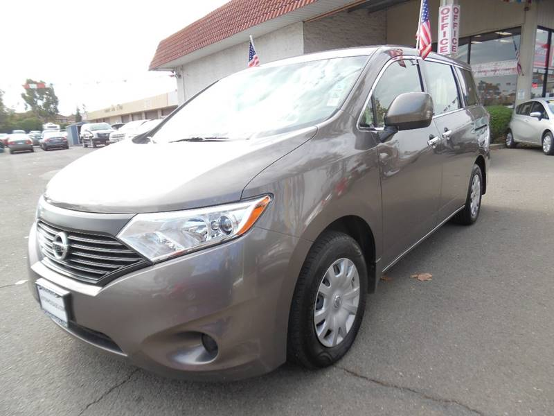 2015 NISSAN QUEST 35 S 4DR MINI VAN brown need financing we can help call now call today cal