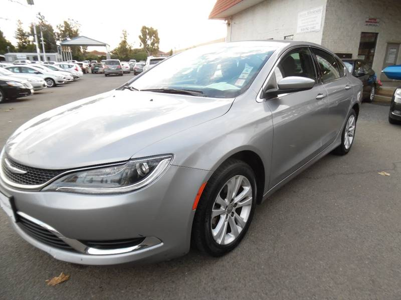 2015 CHRYSLER 200 LIMITED 4DR SEDAN silver need financing we can help call now call today cal