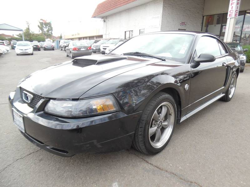2004 FORD MUSTANG GT DELUXE 2DR FASTBACK black need financing we can help call now call today