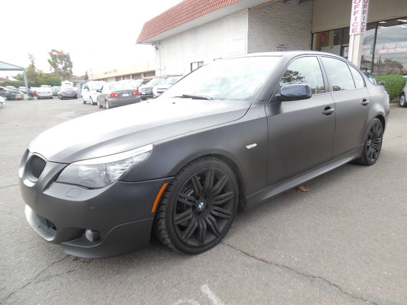 2008 BMW 5 SERIES 550I 4DR SEDAN LUXURY black need financing we can help call now call today