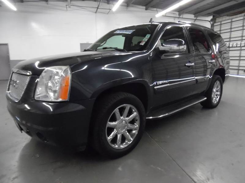 2008 GMC YUKON DENALI AWD 4DR SUV dark blue need financing we can help call now  call today