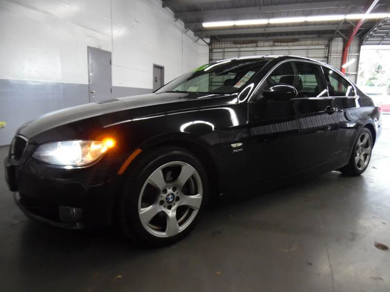 2009 BMW 3 SERIES 328XI AWD 2DR COUPE SULEV black need financing we can help call now  call to