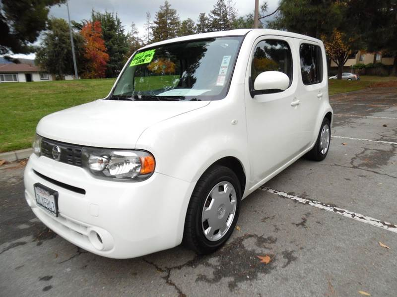 2010 NISSAN CUBE 18 S 4DR WAGON CVT white need financing we can help call now  call today  c