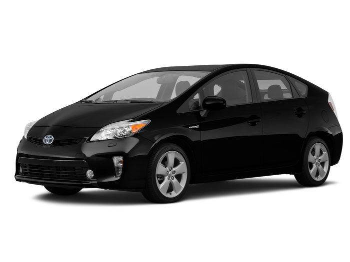2015 TOYOTA PRIUS TWO 4DR HATCHBACK black need financing we can help call now  call today  ca