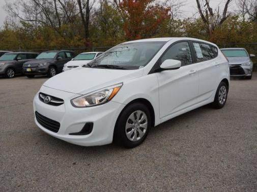 2015 HYUNDAI ACCENT GS 4DR HATCHBACK white need financing we can help call now  call today  c