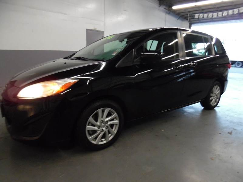 2012 MAZDA MAZDA5 SPORT 4DR MINI VAN 5A black need financing we can help call now  call today