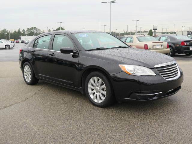 2014 CHRYSLER 200 TOURING 4DR SEDAN black need financing we can help call now  call today  ca