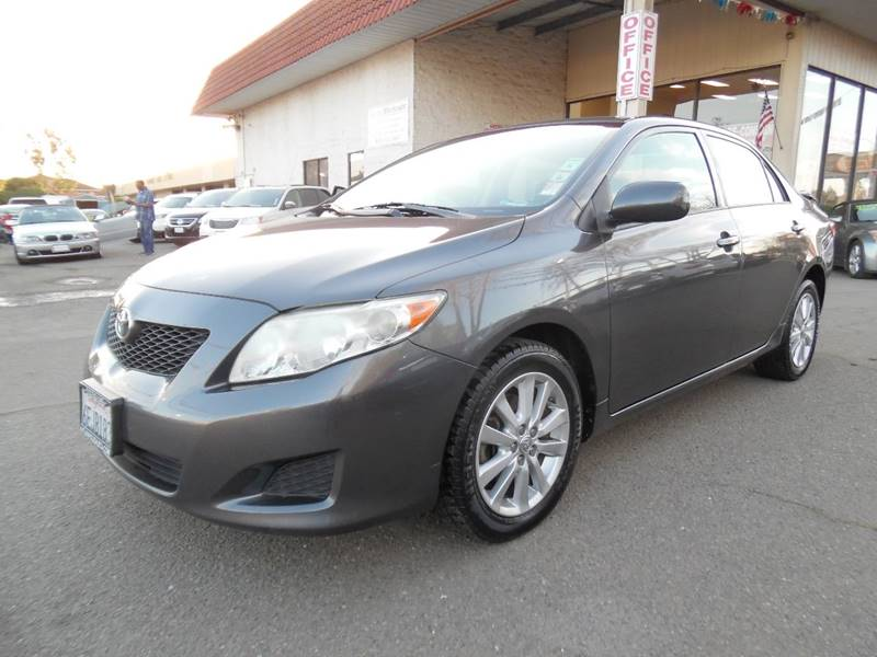 2009 TOYOTA COROLLA LE 4DR SEDAN 4A gray need financing we can help call now  call today  cal