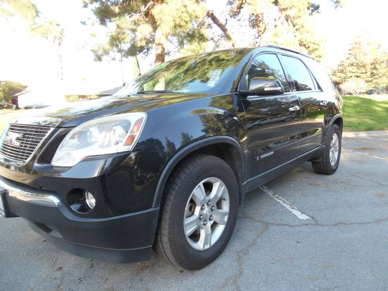 2008 GMC ACADIA SLT-1 4DR SUV black need financing we can help call now  call today  call the
