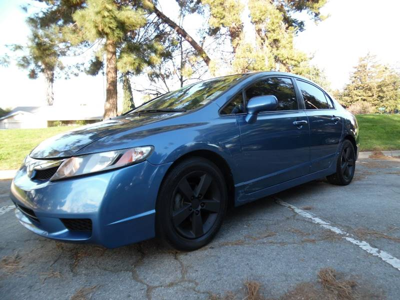 2010 HONDA CIVIC LX-S 4DR SEDAN 5M blue need financing we can help call now  call today  call