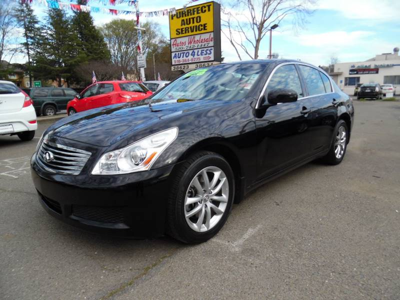 2008 INFINITI G35 X AWD 4DR SEDAN black need financing we can help call now  call today  call