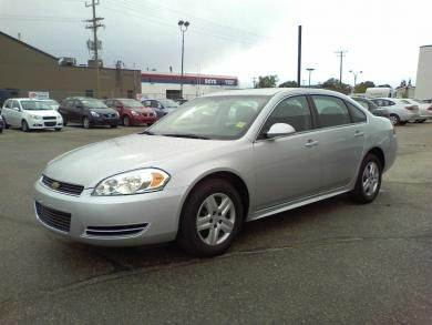 2011 CHEVROLET IMPALA LS FLEET 4DR SEDAN W1FL silver need financing we can help call now  cal