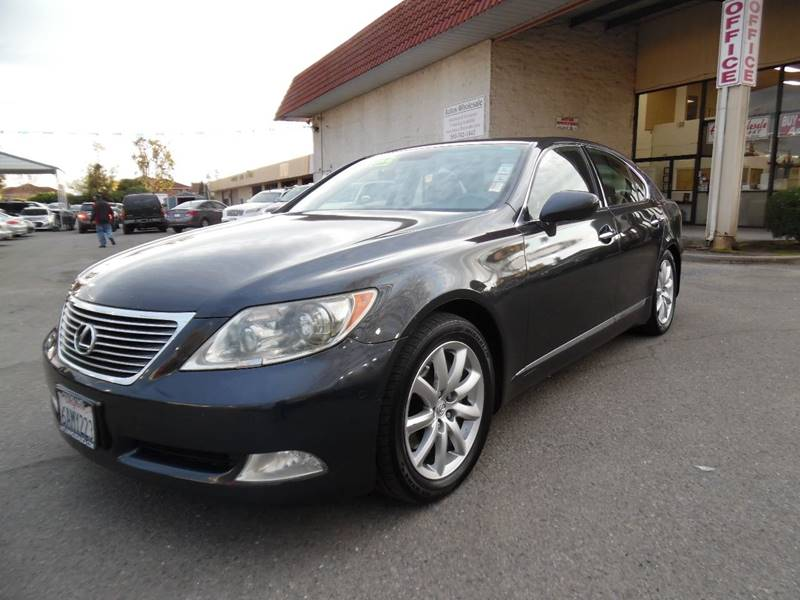 2007 LEXUS LS 460 BASE 4DR SEDAN charcoal need financing we can help call now call today call