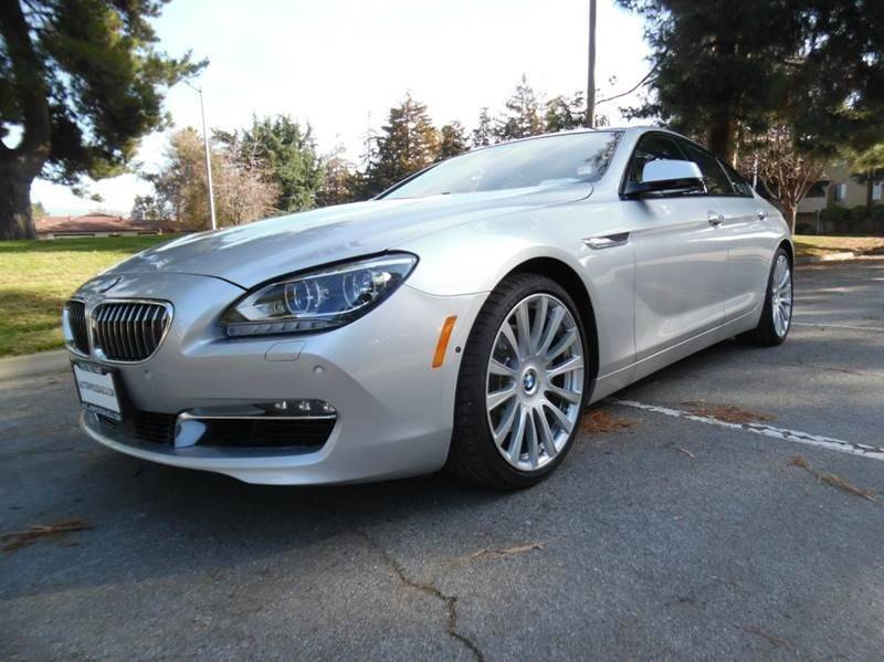 2013 BMW 6 SERIES 650I GRAN COUPE 4DR SEDAN silver need financing we can help call now call to