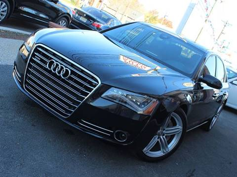 2013 Audi A8 for sale at Quality Auto Center in Springfield NJ