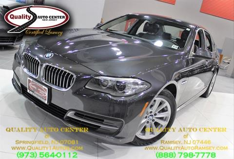2014 BMW 5 Series for sale in Springfield, NJ