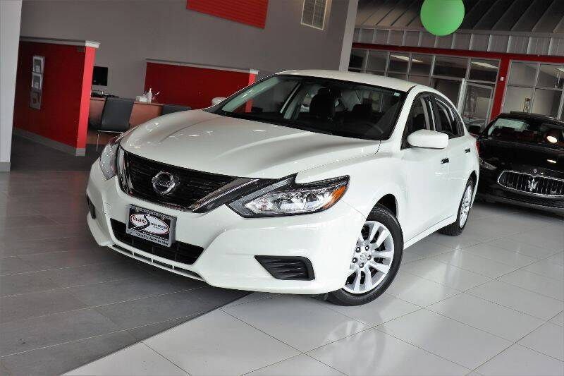 2017 Nissan Altima for sale at Quality Auto Center in Springfield NJ