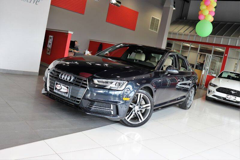 2017 Audi A4 for sale at Quality Auto Center in Springfield NJ