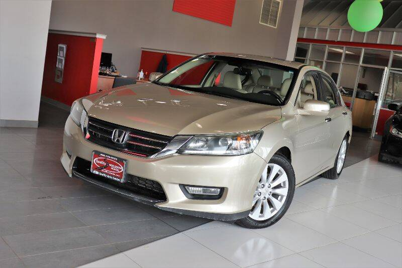 2013 Honda Accord for sale at Quality Auto Center in Springfield NJ