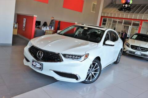 2018 Acura TLX for sale at Quality Auto Center in Springfield NJ