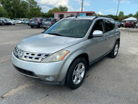 2003 Nissan Murano for sale at Atlantic Auto Sales in Garner NC