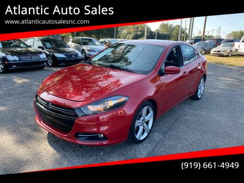 2014 Dodge Dart for sale at Atlantic Auto Sales in Garner NC