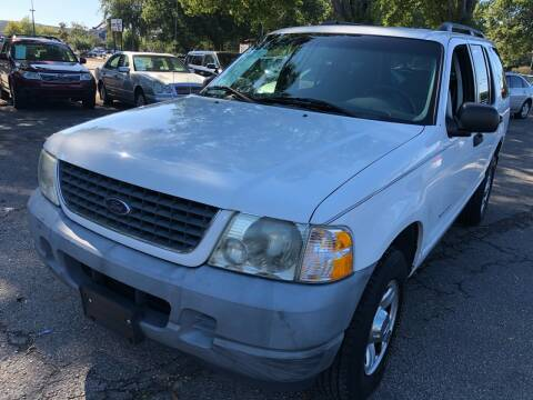 2002 Ford Explorer for sale at Atlantic Auto Sales in Garner NC