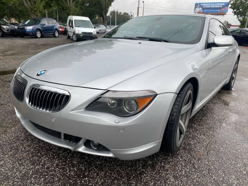 2006 BMW 6 Series for sale at Atlantic Auto Sales in Garner NC