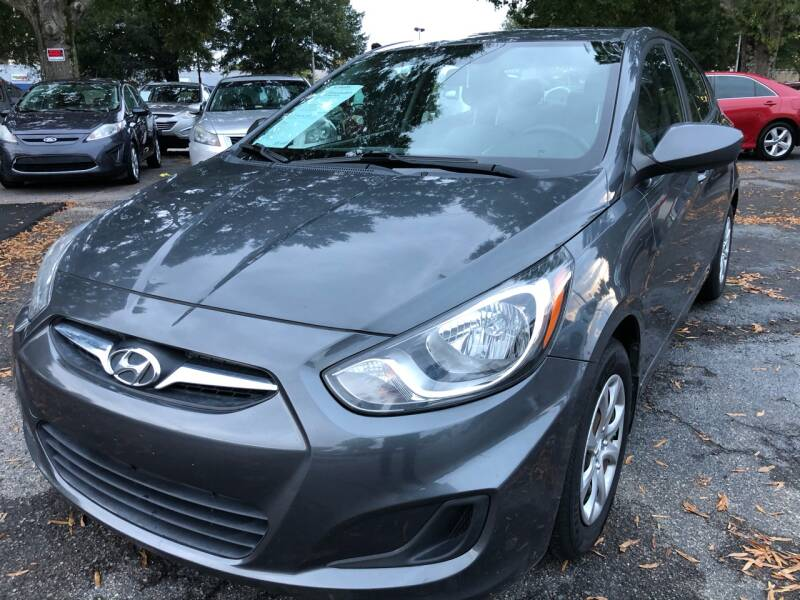 2013 Hyundai Accent for sale at Atlantic Auto Sales in Garner NC