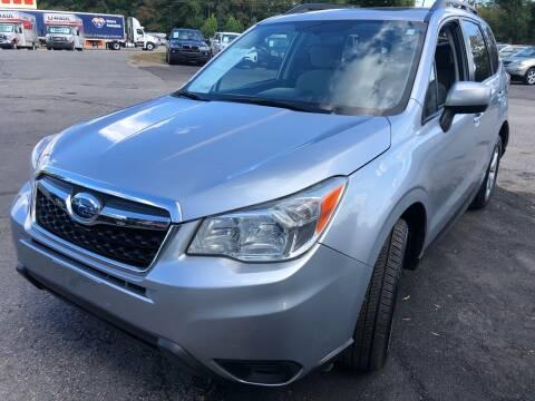 2014 Subaru Forester for sale at Atlantic Auto Sales in Garner NC