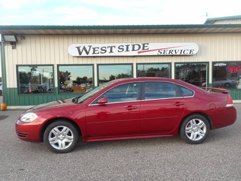 2014 Chevrolet Impala Limited for sale in Auburndale, WI